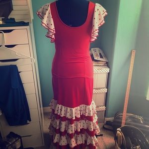 2 piece Flamenco outfit. Hand wash cold